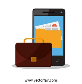 Suitcase and business supplies design