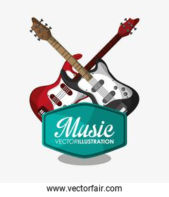 Electric guitar and music design