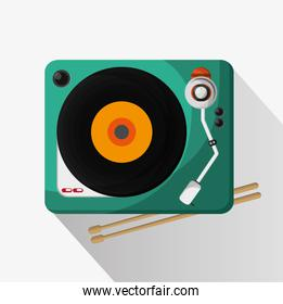 Vinyl instrument and music design
