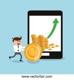 Tablet businnes and financial design