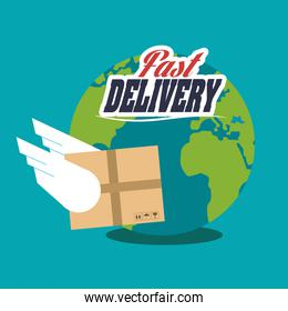 Package and delivery design