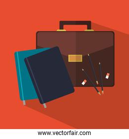 Suitcase office and business design