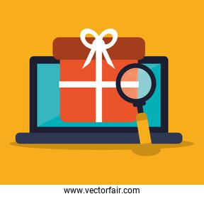 Laptop shopping and ecommerce design