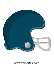 helmet of american football design