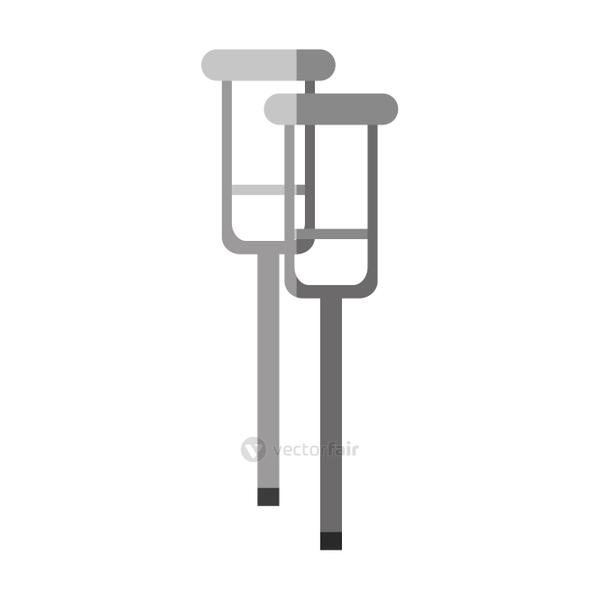 Isolated crutches design
