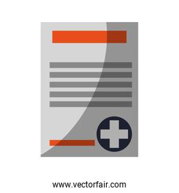 Isolated medical history design