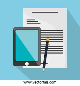 Smartphone document and Worktime design