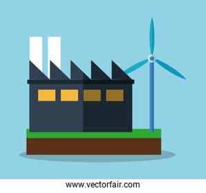 Factory and ecology concept design