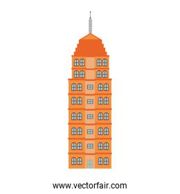 Isolated building tower design