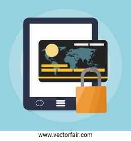 online shopping or e commerce related icons image