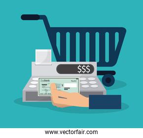 shopping related icons image