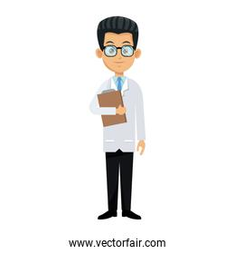 medical doctor man icon