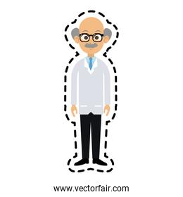 male doctor icon image