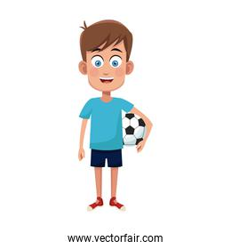 boy cartoon icon