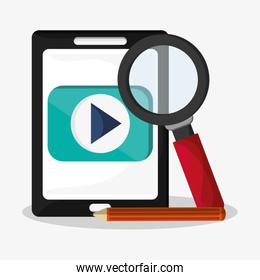 web search related icons image