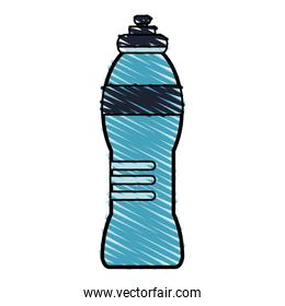 color drawing pencil cartoon sports bottle for liquids