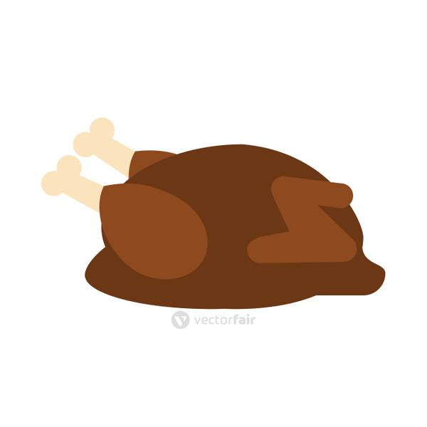 roasted chicken icon image