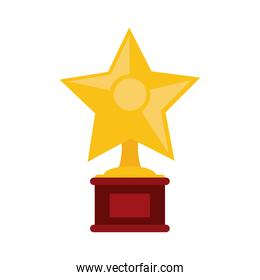 star shape trophy icon image