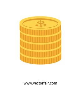 coin stack icon image