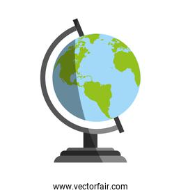 planet earth globe icon image