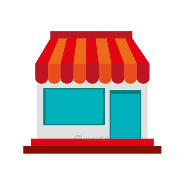 small store or shop icon image