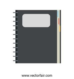 closed notebook icon image