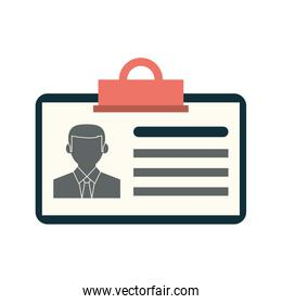 work id card icon image