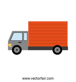 delivery or cargo truck icon image