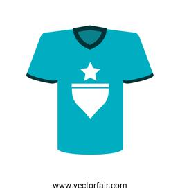 t shirt with star icon image