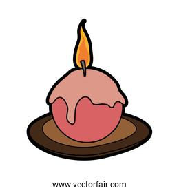 ornamental candle icon image