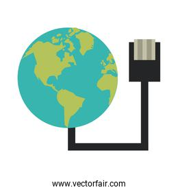 global communications concept icon image