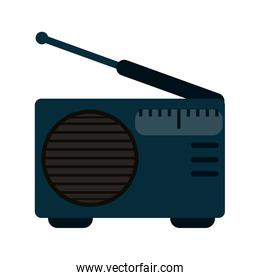radio with antenna icon image