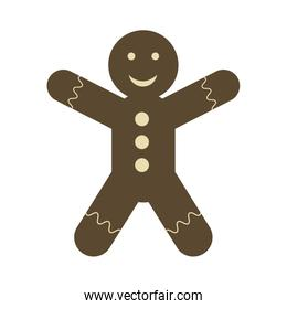 gingerbread man cookie icon image