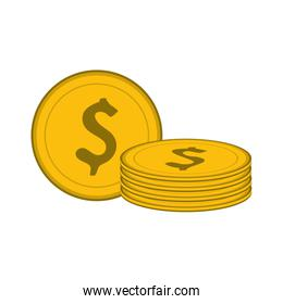 dollar coins  icon image