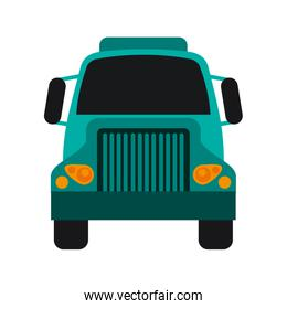 train flat illustration