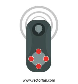 small video game controller with joystick icon image