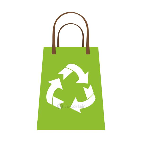 recyclable eco friendly icon image