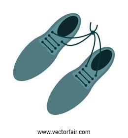 tied shoes icon image