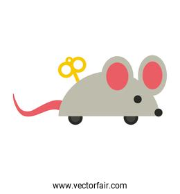 wind up mouse toy icon image