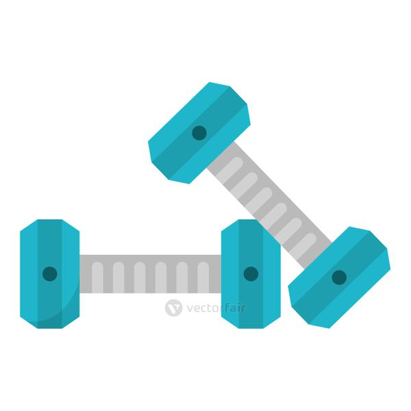 fitness and health icon concept