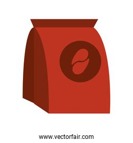 pack of coffe in paper bag