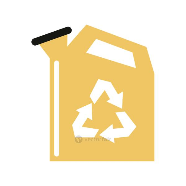 recycling related icon image