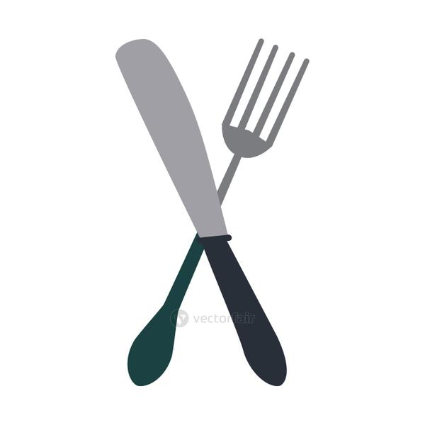 fork and knife icon image