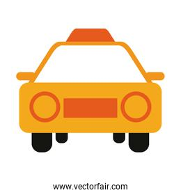taxi frontview icon image