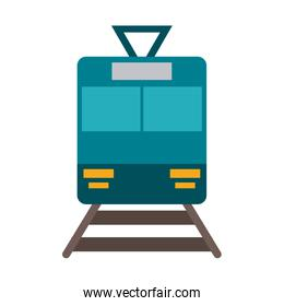 train frontview icon image