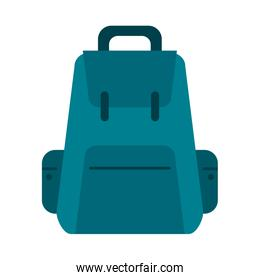 backpack with outside pockets icon image