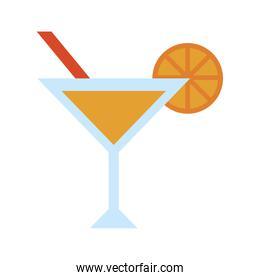 cocktail with garnish icon image