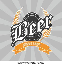 Beer icon design