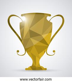 Low Poly trophy design