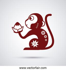 Year of the monkey design